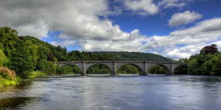 Thomas Telford's Finest Highland Bridge