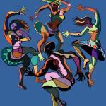 """FOUR FIFTIES DANCERS"" by GeoffGreene"