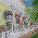 """""""Savannah Porch 2"""" by magnoliadorn"""