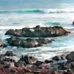 """""""Rocky Ocean Shoreline I"""" by ElainePlesser"""