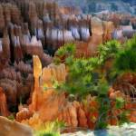"""Views of the Hoodoos in Bryce Canyon"" by ElainePlesser"