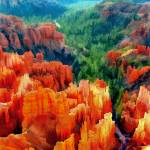 """Hues of the Hoodoos in Bryce Canyon National Park"" by ElainePlesser"