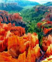 Hues of the Hoodoos in Bryce Canyon National Park