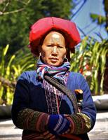 Woman of the Red Hmong  NW Vietnam