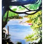 """""""Harbor In The Hedge"""" by rodholmstudio-digitallimn"""