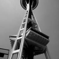 Space Needle Perspective Art Prints & Posters by Brent Rising