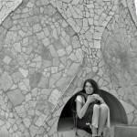 """Gaudi Tiled Structure 1, Casa Mila ""La Pedrera"", B"" by gudenius"