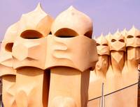 Gaudi Chimney Structures 2, Casa Mila