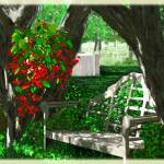 """Backyard Splendor"" by Cindisart"