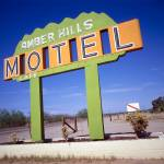 """AmberHills.Motel.Sign"" by silsurf"