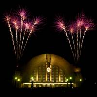 Union Terminal 75th Anniversary Fireworks