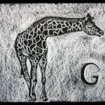 """G for Giraffe"" by dejong"