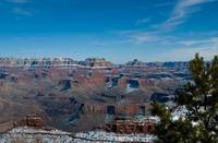 Snowy Grand Canyon Horizon 2880