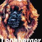"""Black Pop Pup Leonberger"" by KathleenSepulveda"