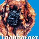 """Blue Pop Pup Leonberger"" by KathleenSepulveda"