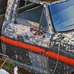 """old truck, rusting"" by lwoodburn"