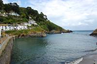 Polperro Harbour (Cornwall England)