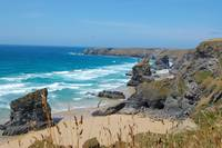 Bedruthan Steps  ( Cornwall Enland)