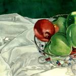 """""""Bowl of Apples"""" by soothedbyrainfall"""