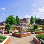 """Corporation Street Garden, Derby  (18167-RDB)"" by rodjohnson"