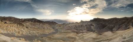 Zabriskie Point and Badlands
