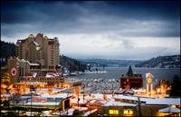 Lake Coeur d' Alene, Idaho and Resort at Christma