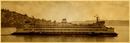 Ferry Boat, Seattle, Washington