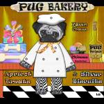 """Pug Bakery"" by ArtPrints"