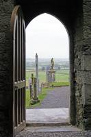 Rock of Cashel Door to Graves
