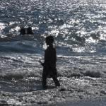 """""""boy on the beach"""" by Kitlittlej"""