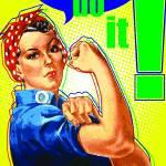 """Rosie the Riveter Poster"" by koyasuddin"