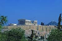 Athenian Acropolis from Philopappou Hill, 2003 6