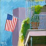 """flag balcony"" by tica"