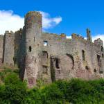 """Laugharne Castle"" by mathalda"