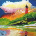 """jupiter lighthouse"" by tica"