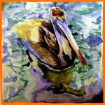"""purple pelican"" by tica"
