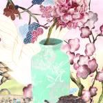 """Kimono Peony"" by LauraKHall"