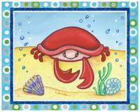 Crab (with border)