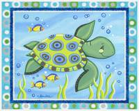 Sea Turtle (with border)