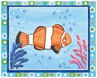 Clown Fish (with border)