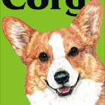"""Green Pop Pup Pembroke Welsh Corgi"" by KathleenSepulveda"