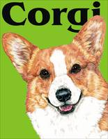 Green Pop Pup Pembroke Welsh Corgi