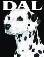 Black Pop Pup Dalmatian