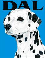 Blue Pop Pup Dalmatian