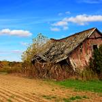 """Old barn in county"" by NacoPhotography"
