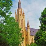 """Basilica of the Sacred Heart Notre Dame University"" by lwoodburn"