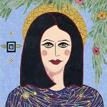 """Mary -  fabric mosaic"" by RemnantWorks"