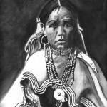 """Native American Indian Maiden ,Jicarilla Apache"" by Texaslady"