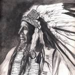 """Native American Indian,Chief American Horse"" by Texaslady"