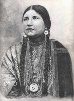 Native American Indian, Lakota Woman